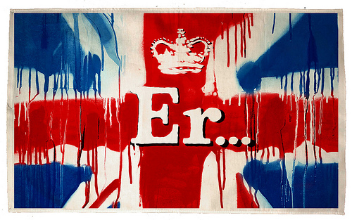 Banksy Er Flag
