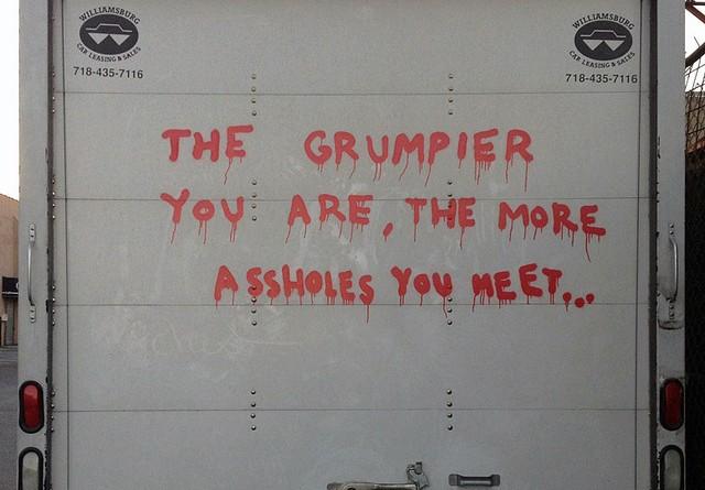Banksy - Grumpier