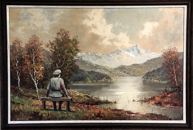 Banksy Nazi Landscape Painting
