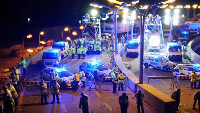 Jimmy Cauty's Aftermath Dislocation Principle