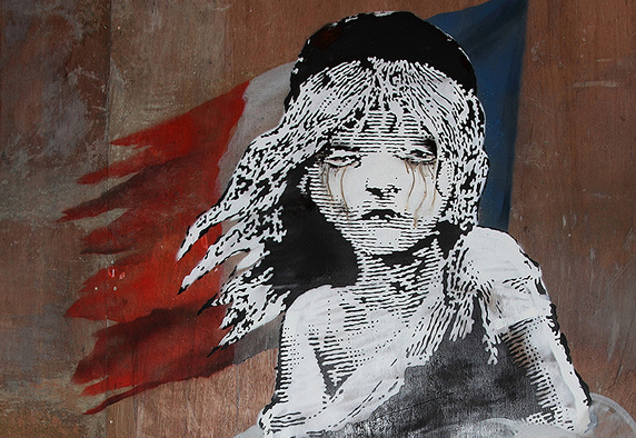 Banksy - Les Miserables