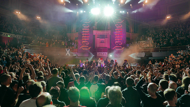 The Damned at the Royal Albert Hall