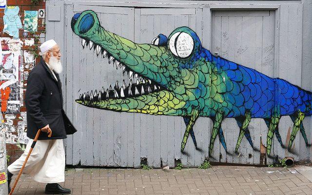 Photo of street art by Bault