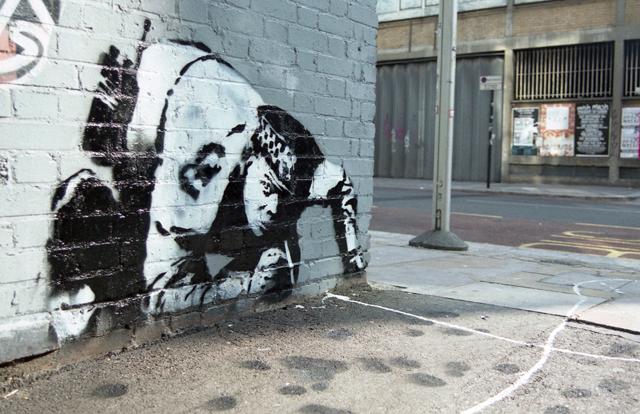 Banksy Snorting Copper