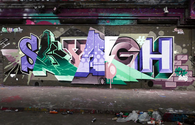 Skyhigh graffiti
