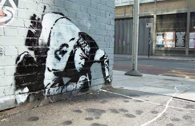 Banksy Snorting Copper