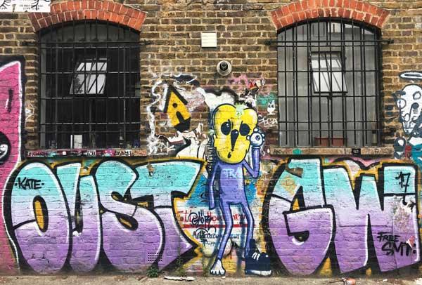 Glor street art