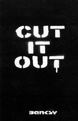 Banksy book - Cut It Out