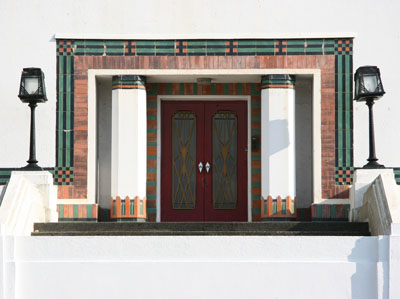 Art  Deco entrance