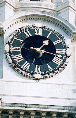 St Paul's Cathedral Clock
