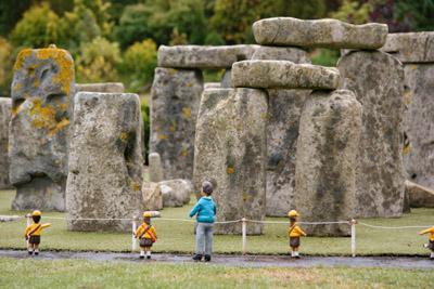Babbacombe Model Village Stonehenge