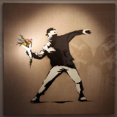 Banksy - Lpve Is In The Air