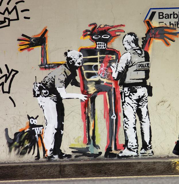 Banksy Basquiat