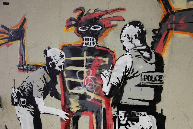 Banksy detail