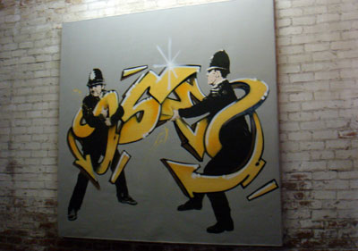 Banksy vs Seen