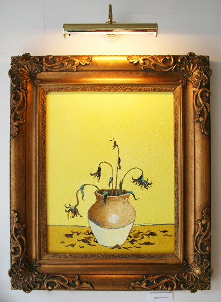 Banksy Van Gogh - Sunflowers from a Petrol Station