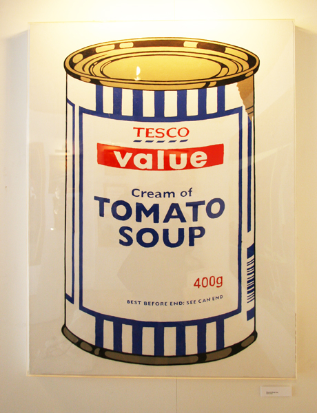 Banksy Value Tomato Soup