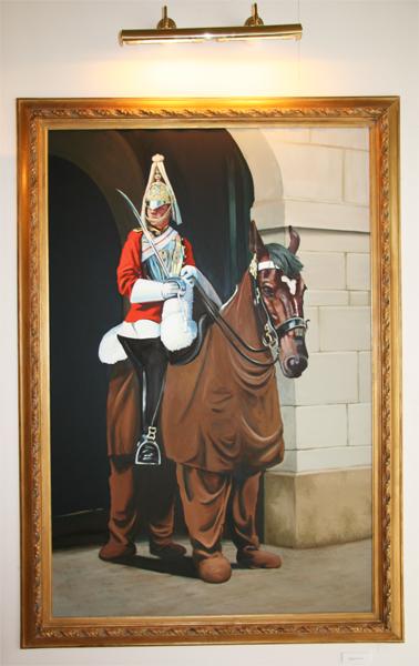 Banksy pantomime horse