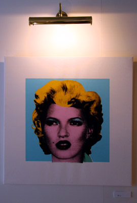 Banksy Crude Oils 'Kate Moss'