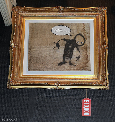Banksy - You have got to be kidding me