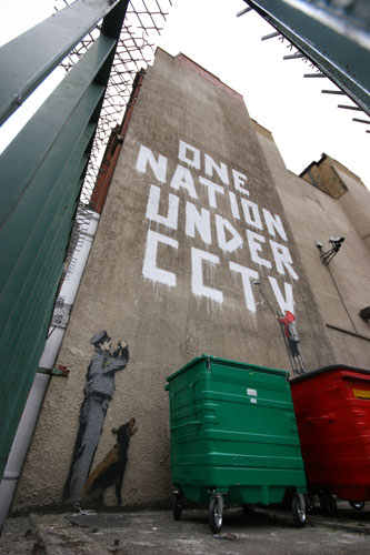 Banksy One Nation Under CCTV