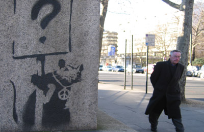 Banksy rat puzzled
