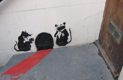 Banksy red carpet service