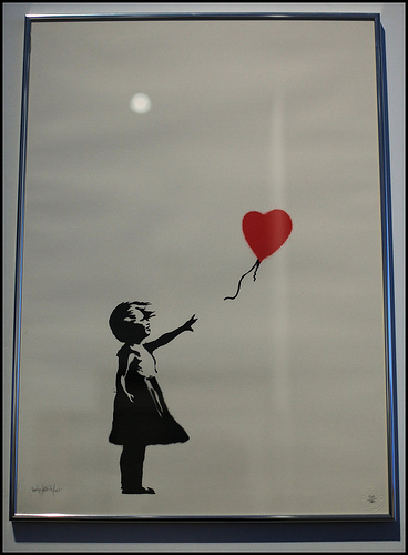 Fake Banksy print