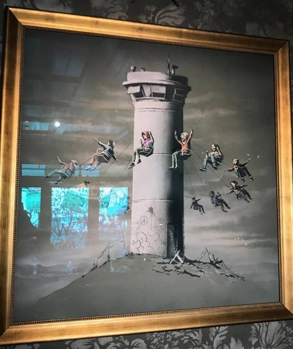 Banksy Watch tower