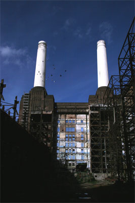 Battersea Power Station chimneys