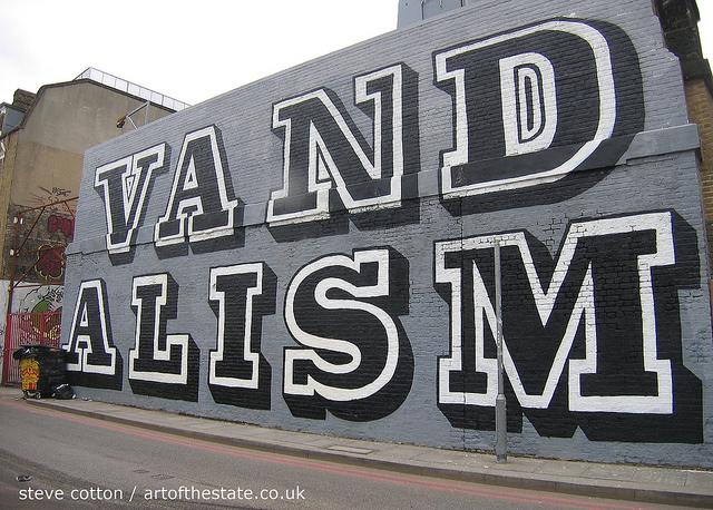 Ben Eine - Vandalism