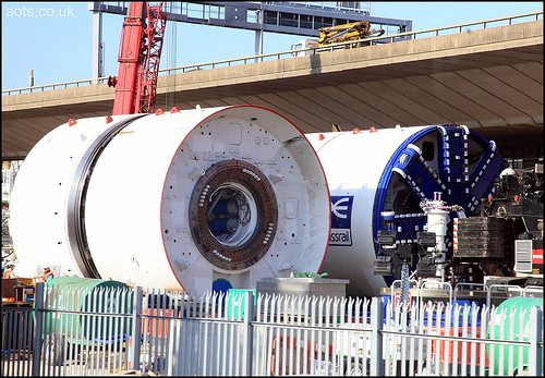Crossrail Tunneling Machine