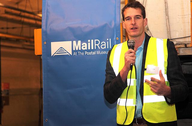 Dan Snow, Mail Rail