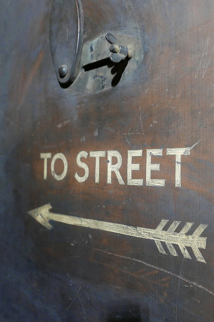 Down Street - To Street sign