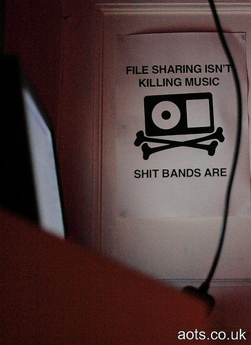 File sharing is killing music