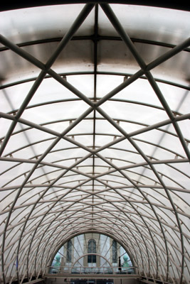 Imperial War Museum roof