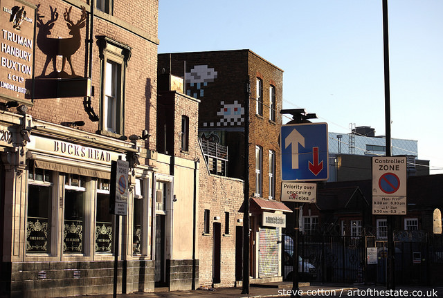 Invader in Camden
