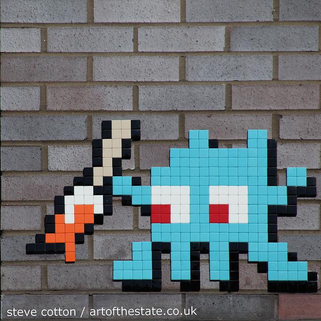 Invader Finsbury Park