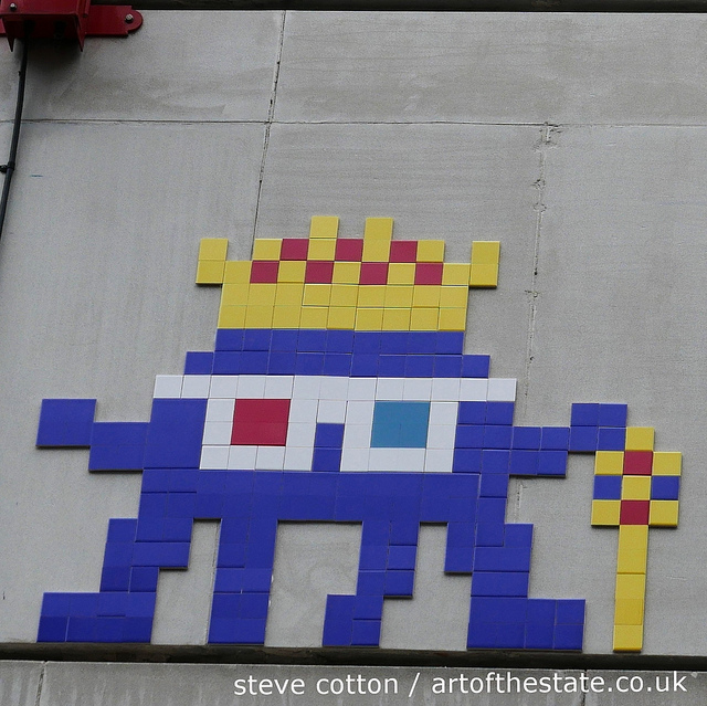 Invader Prince Charles Cinema