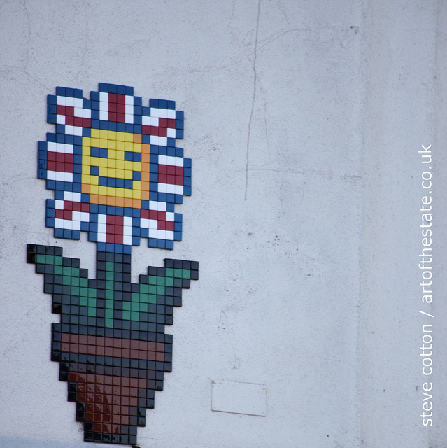 Invader in Walthamstow