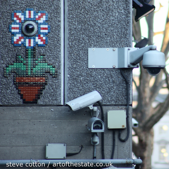 Invader on the South Bank