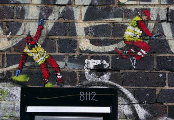 Jaune art, Brick Lane