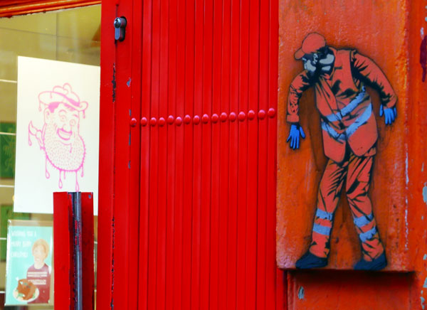 Jaune Street art