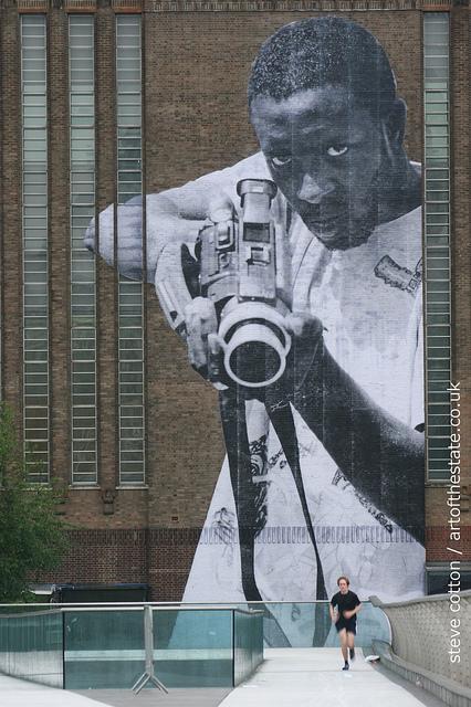 JR _ Tate Modern