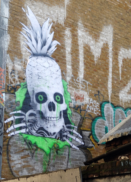Ludo Street Art, Sclater Street