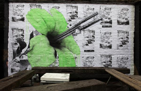Ludo street art, Rivington Street