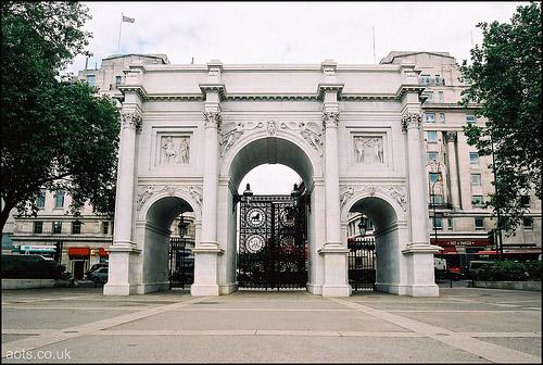 Flug Blog Marble Arch London