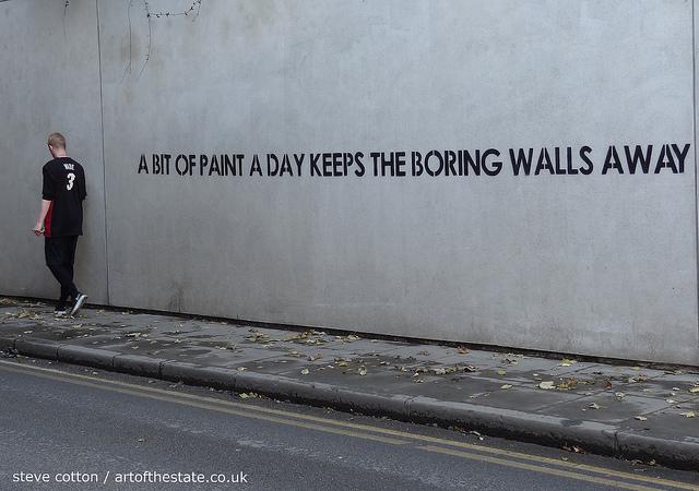Mobstr boring walls