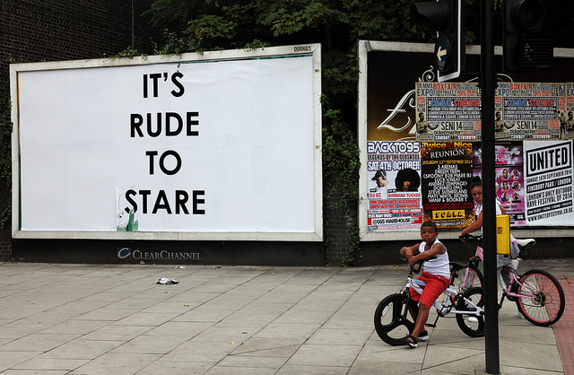 Mobstr It's rude to stare