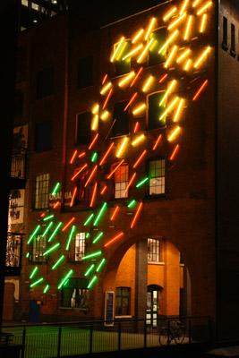 Oxo Wharf Lights